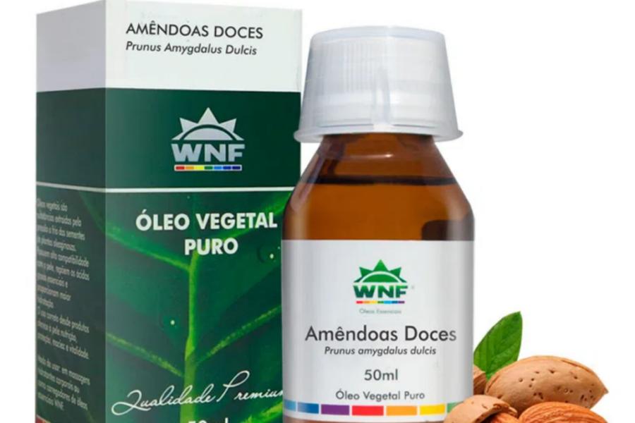 Óleo de Amêndoas Doce – 50ml WNF